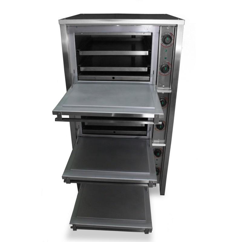 Шкаф жарочный трехкамерный ШЖЕ-3 Н