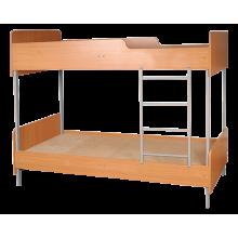 Кровать 2-ярусная с закругленными углами