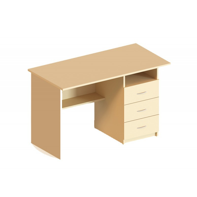 (5102) Стіл письмовий з трьома ящиками праворуч