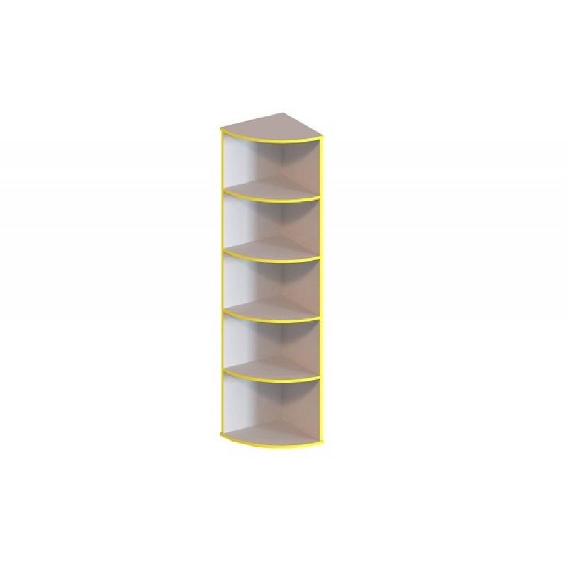 (1346С) Приставка к шкафу с закругленными полками