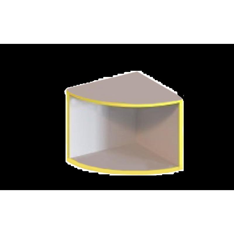 Антресоль - угловий елемент