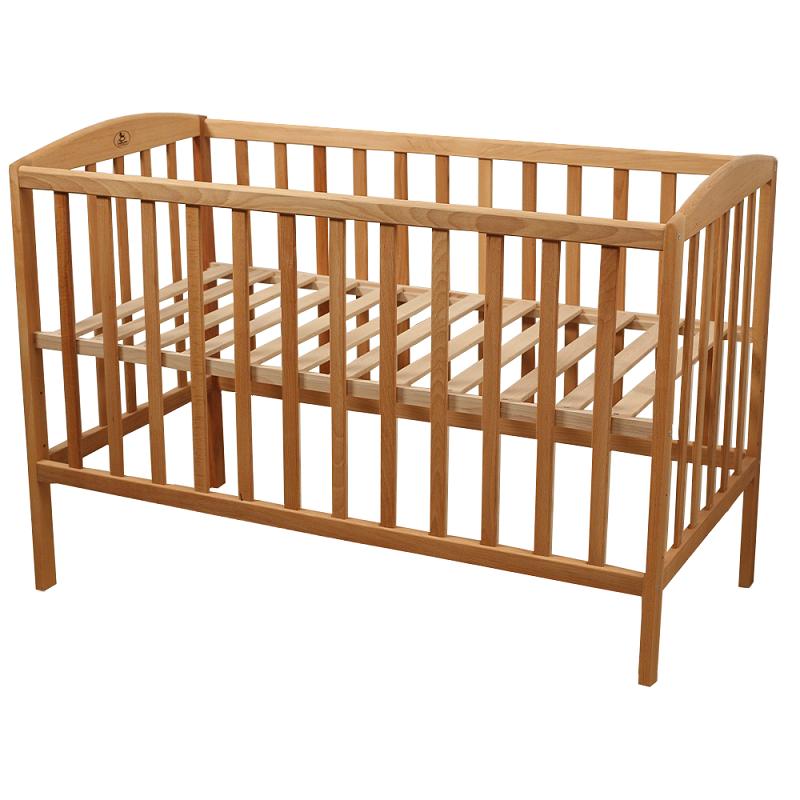 Ліжко-манеж дитяче з натурального дерева