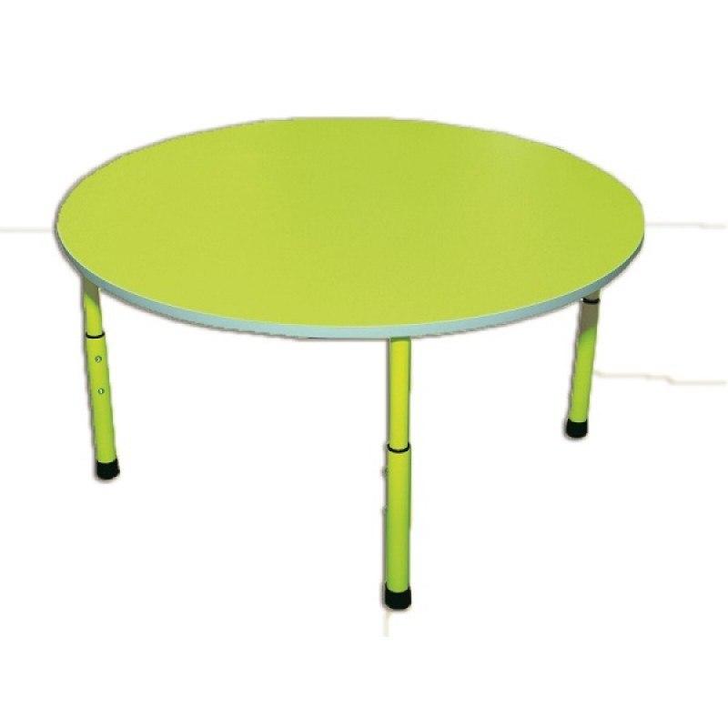 Стол детский круглый, регулируемый по высоте
