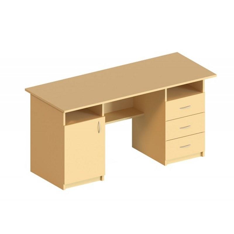 (5104) Стол письменный 1-дверный и с 3-мя ящиками