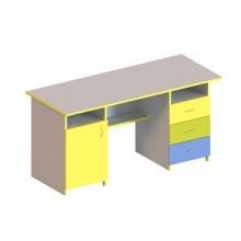 Стол письменный 1-дверный и с 3-мя ящиками