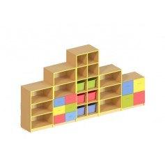 Стенка для игрушек (без пластиковых лотков)