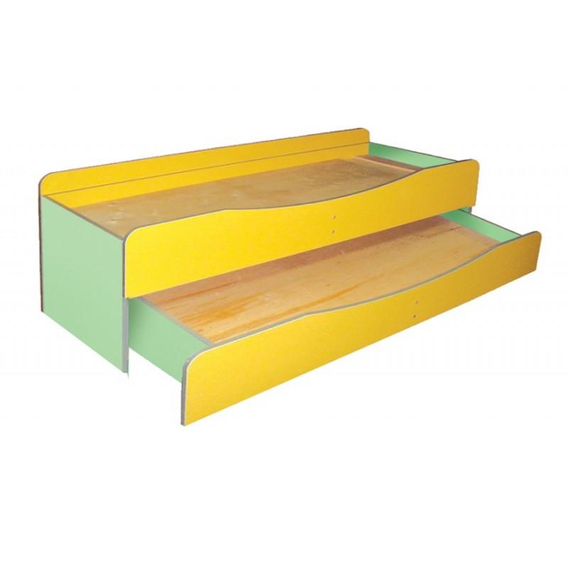 Кровать детская 2-х ярусная без матраса