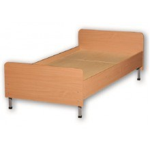 Ліжко 1-спалне із заокругленими кутами