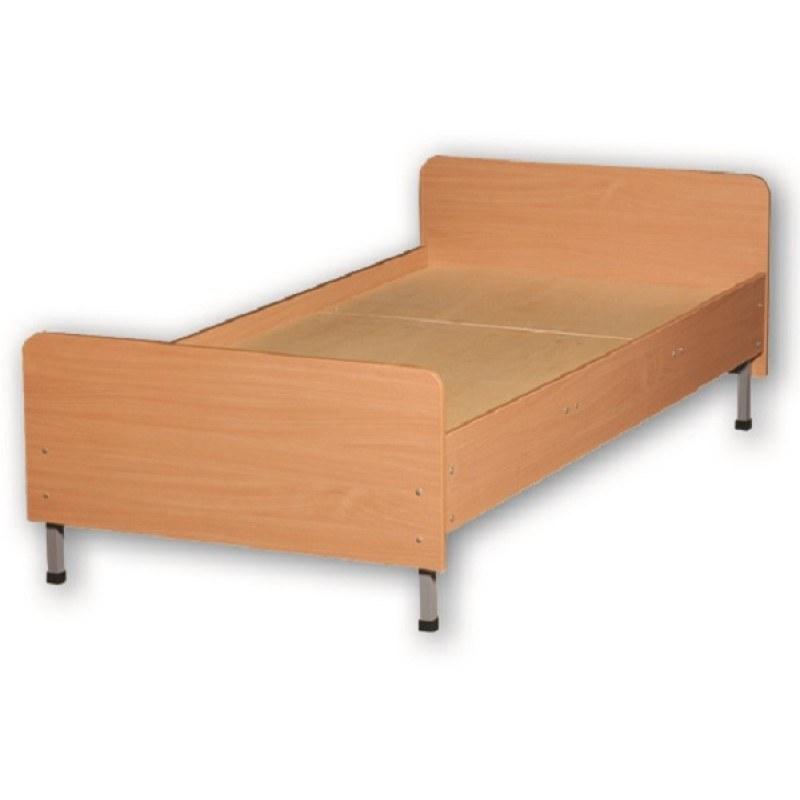 Кровать 1-спальная с закругленными углами