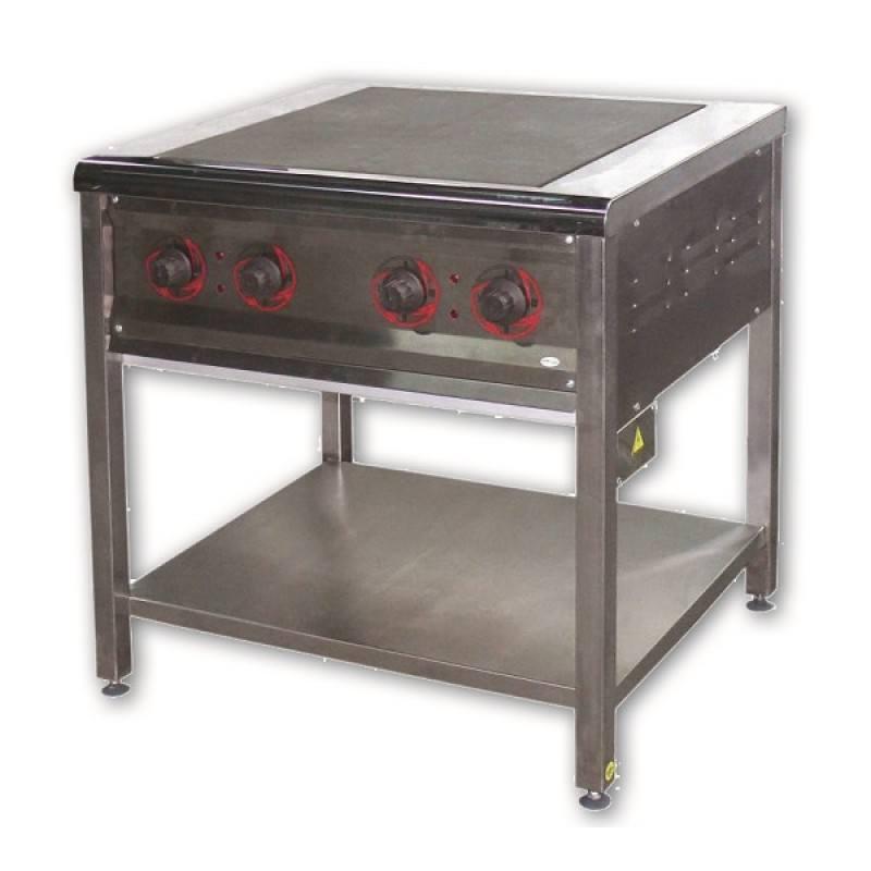 Плита електрична ПЄ-4 без шафи жарочної