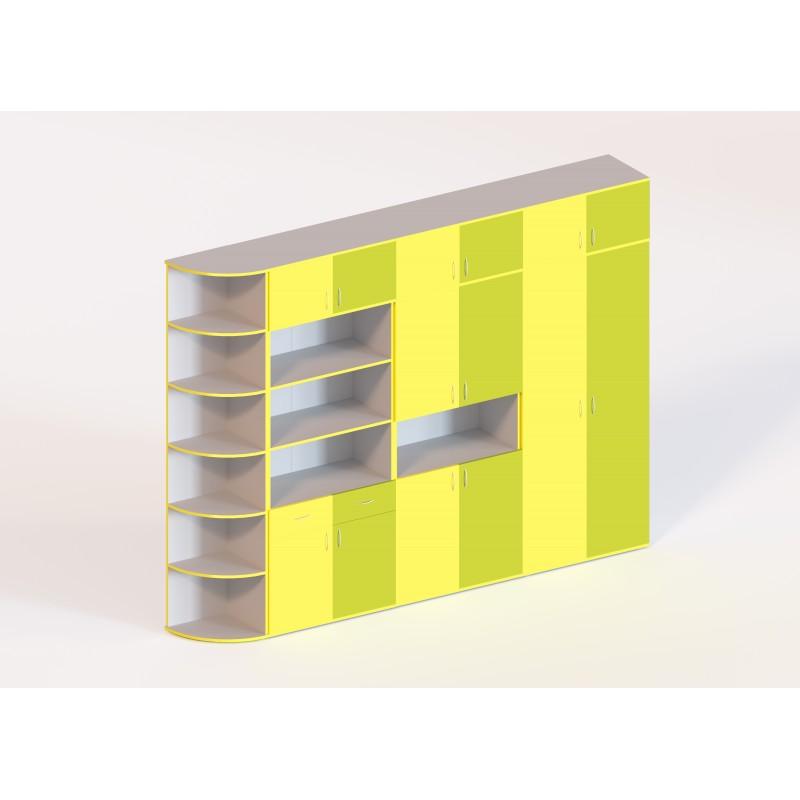 (273) Стінка для кабінету