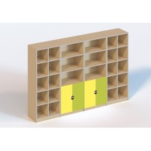 (6101) Стінка для дидактичного матеріалу (без  пластикових лотків)
