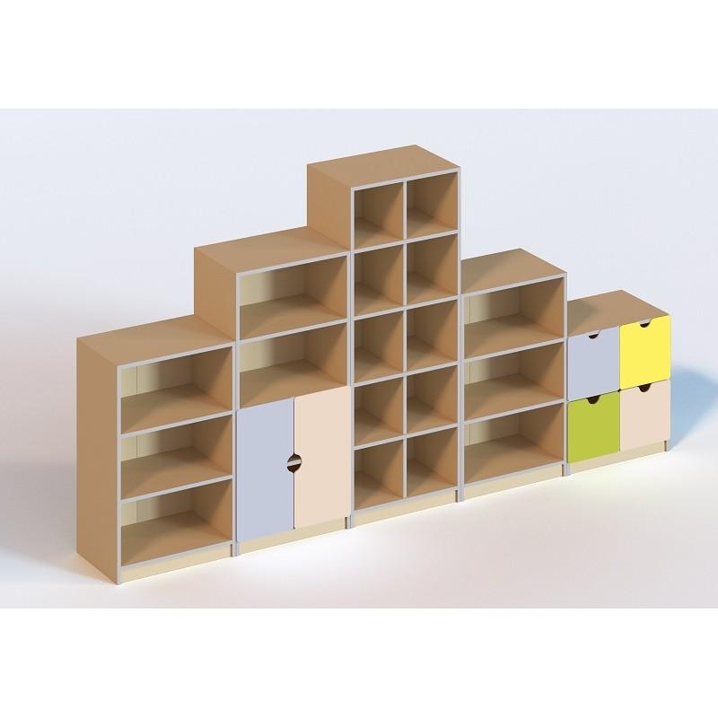 (6103) Стенка для игрушек (без пластиковых лотков)