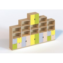 (6104) Стінка меблева модульна для кабінету