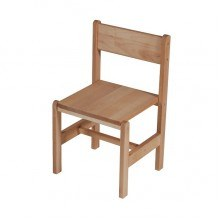 Дитячий дерев'яний стільчик