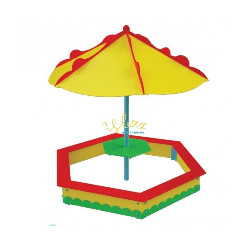 """Песочница с зонтом """"Грибочек"""""""