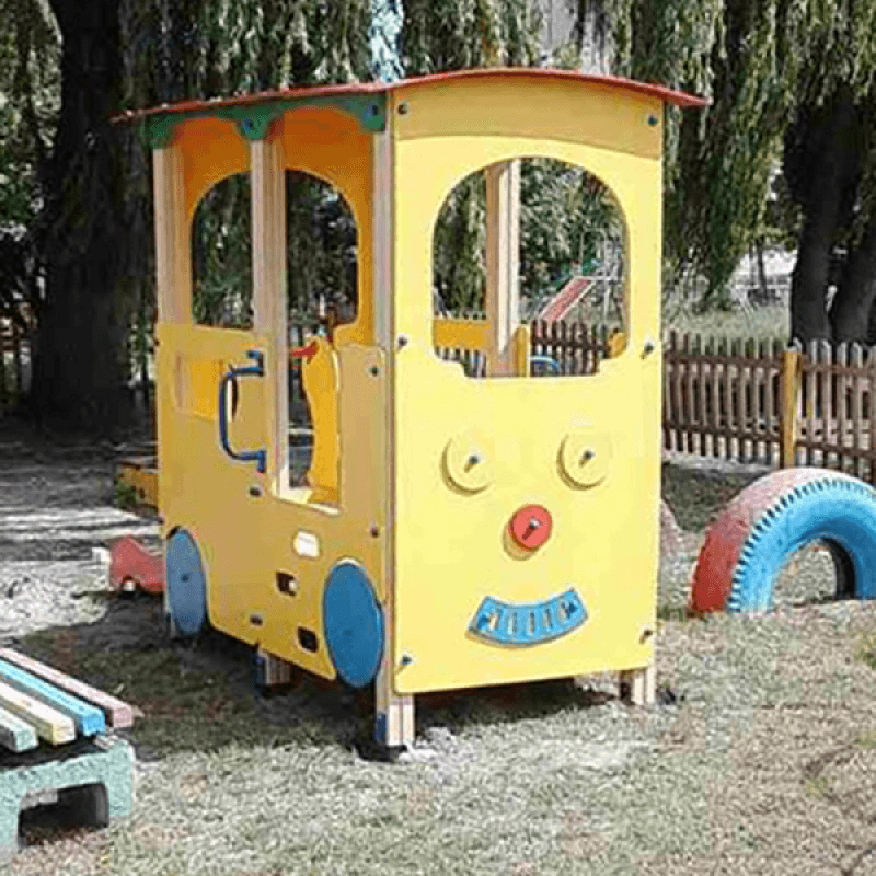 """Вагон """"Трамвайчик"""""""
